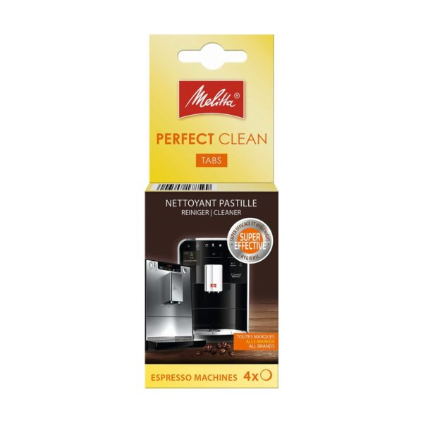 Melitta Perfect Clean Tabs Espresso 4x