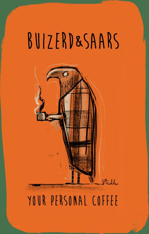 Koffie Buizerd & Saars
