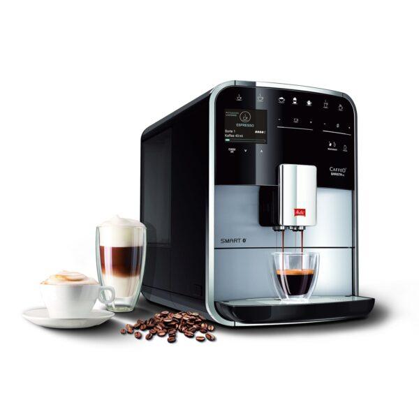 Melitta volautomatische koffiemachine Barista Smart TS F850-101 zilver