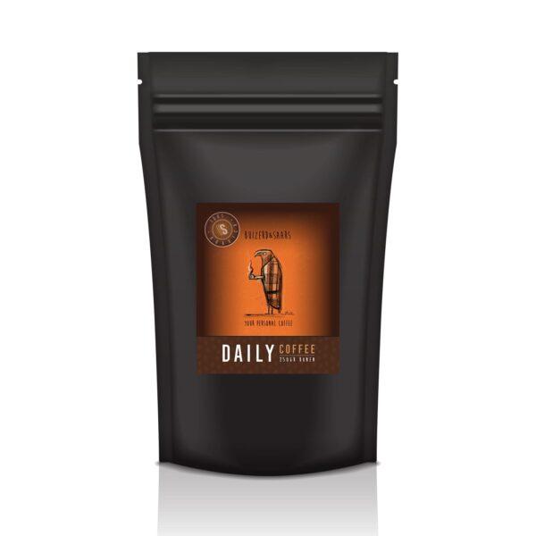 Daily Coffee gebrande koffiebonen 250g