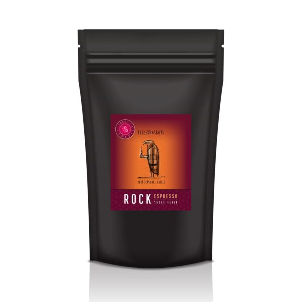 Rock Espresso gebrande koffiebonen 500g